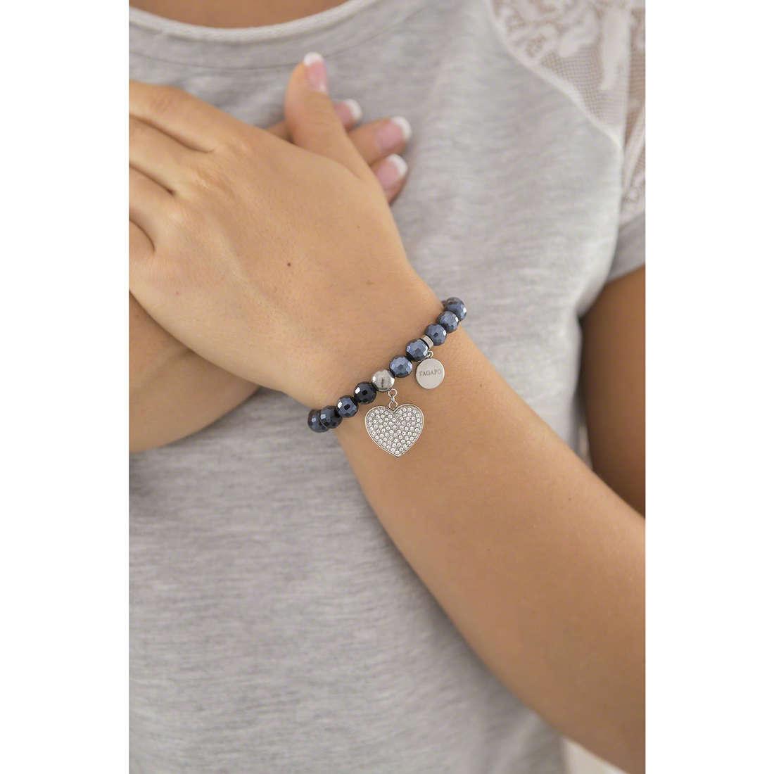 Sagapò bracciali Friends donna SFR12 indosso