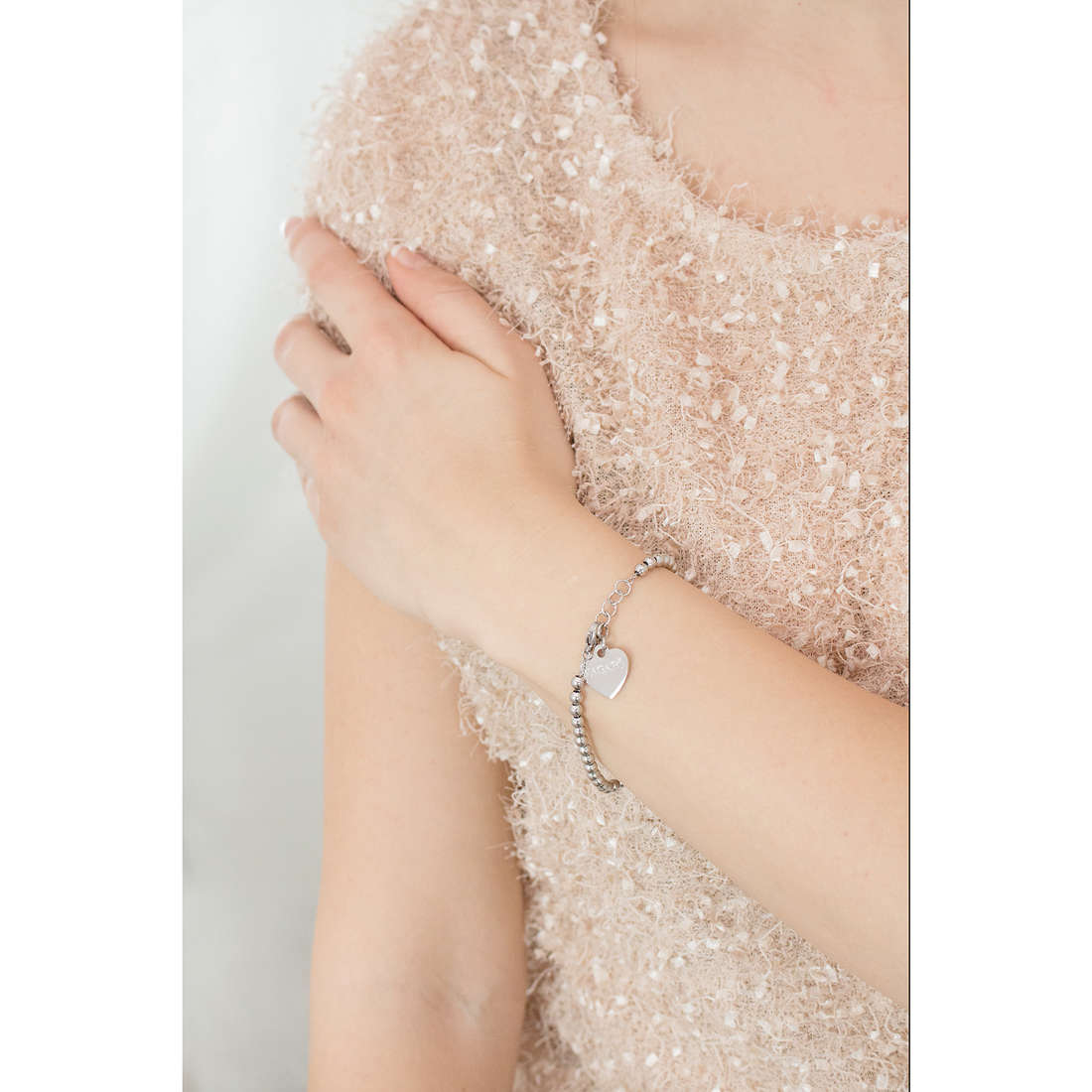 Sagapò bracciali HAPPY donna SHAC10 indosso