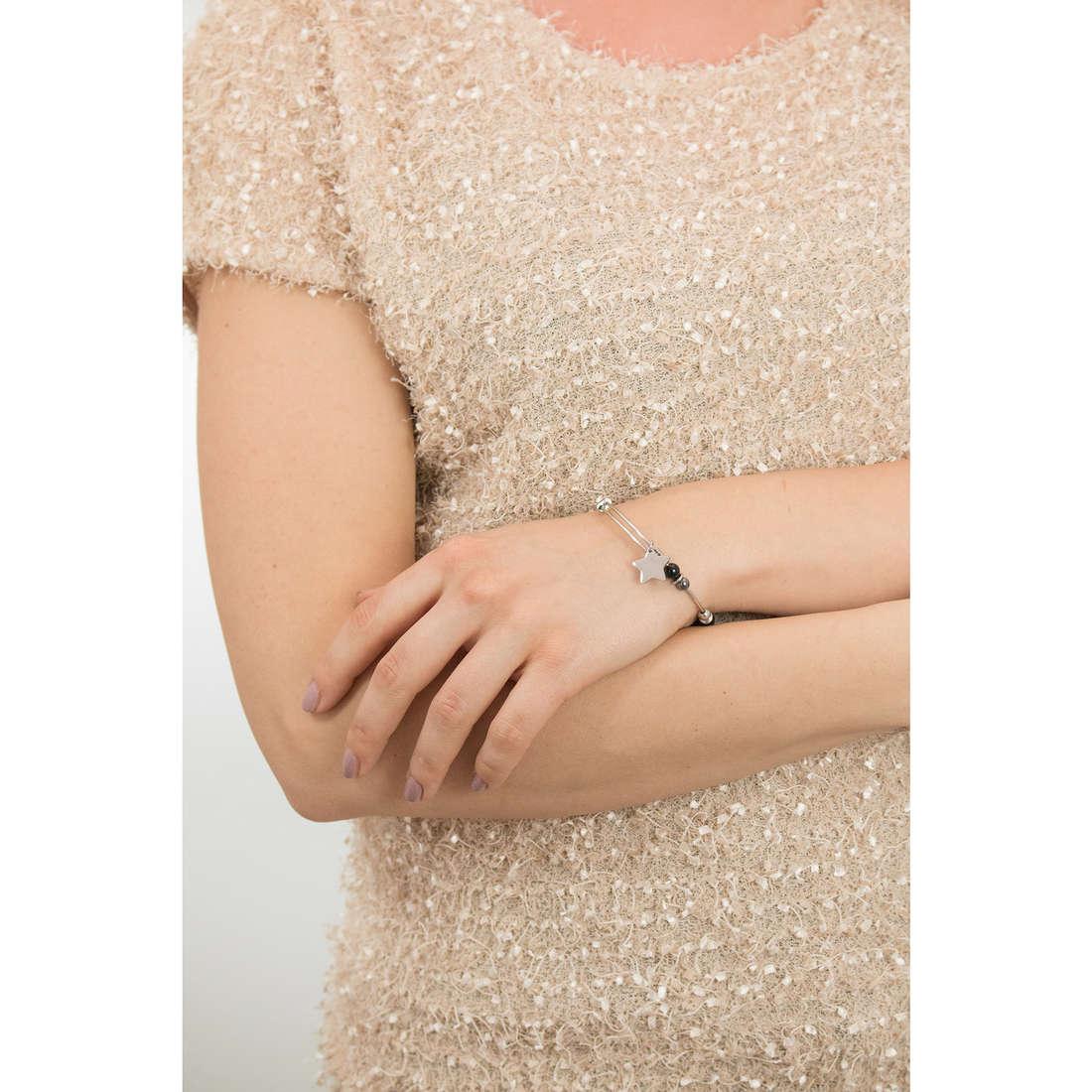 Sagapò bracciali HAPPY donna SHAD03 indosso
