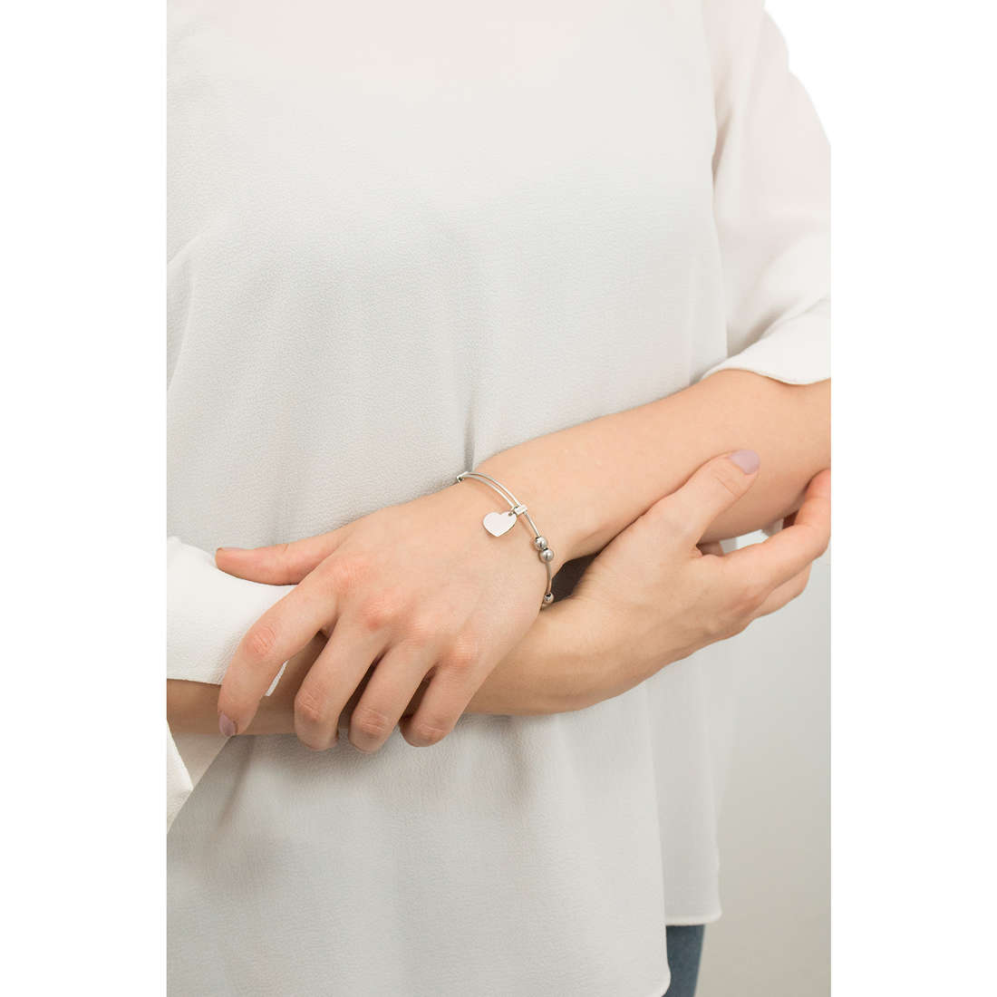 Sagapò bracciali HAPPY donna SHAD05 indosso