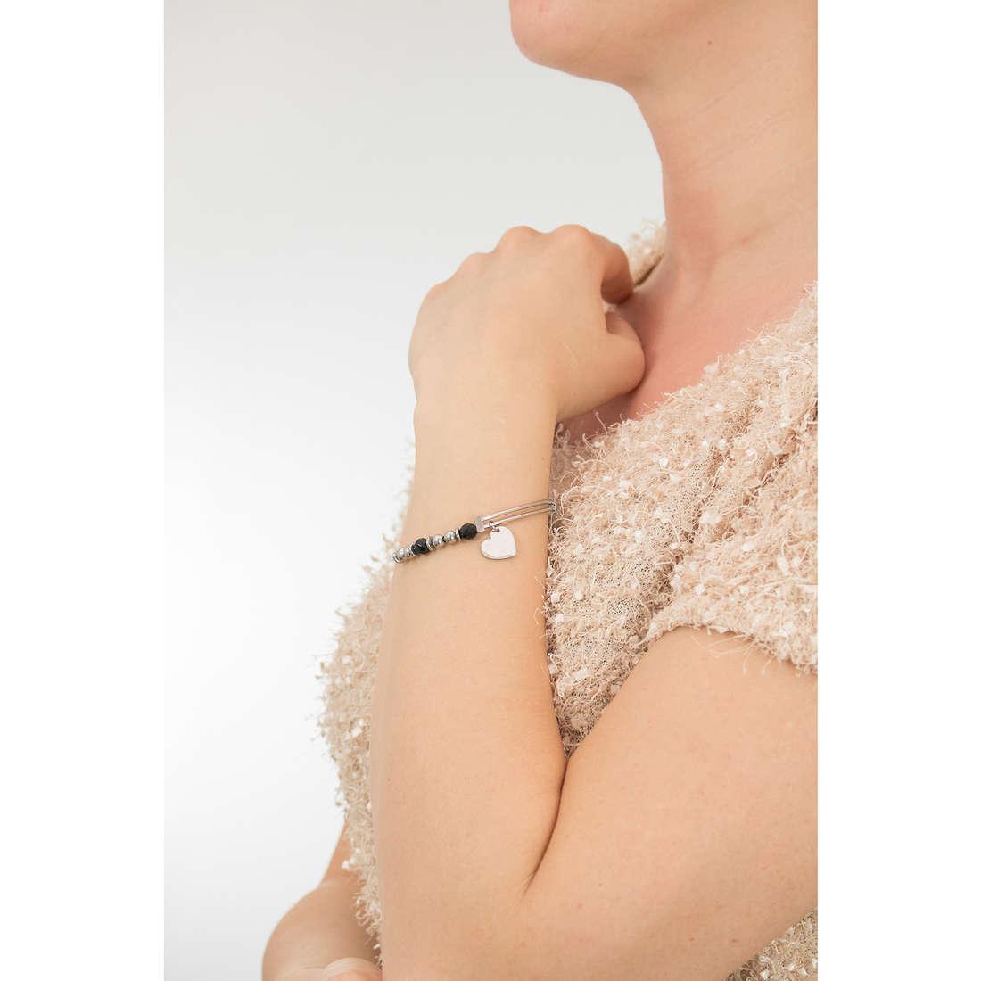 Sagapò bracciali HAPPY donna SHAD06 indosso