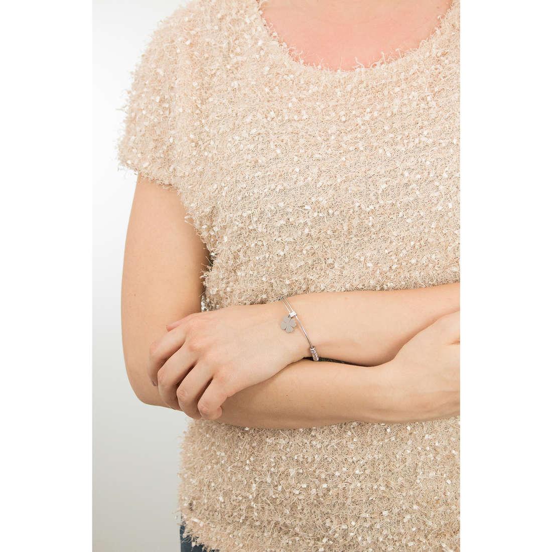 Sagapò bracciali HAPPY donna SHAD13 indosso