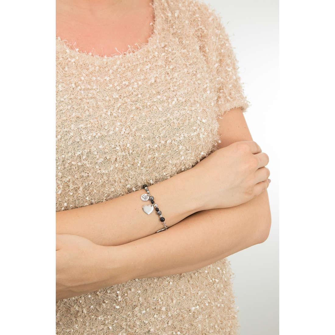 Sagapò bracciali HAPPY donna SHAF01 indosso