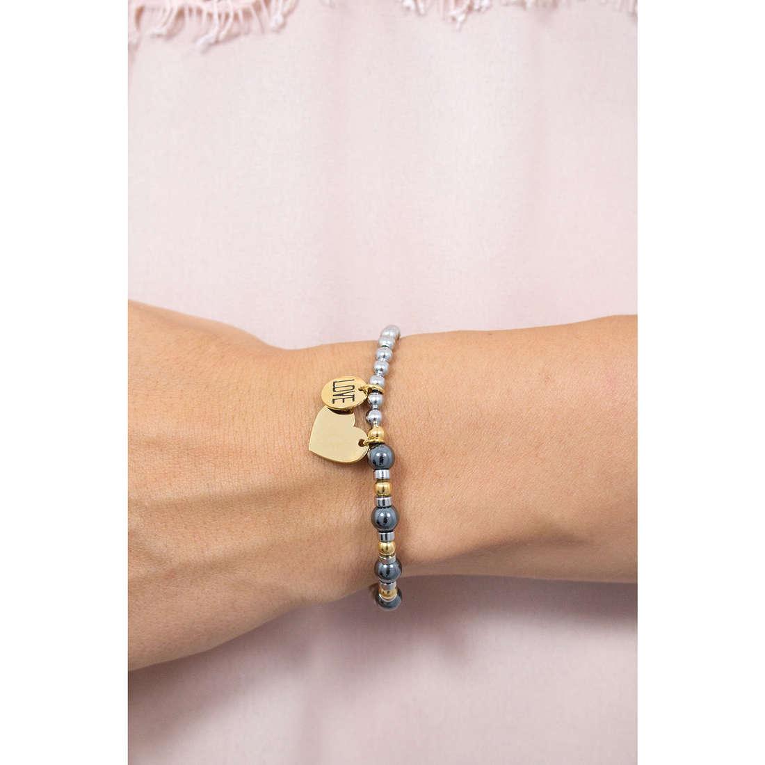 Sagapò bracciali HAPPY donna SHAG02 indosso