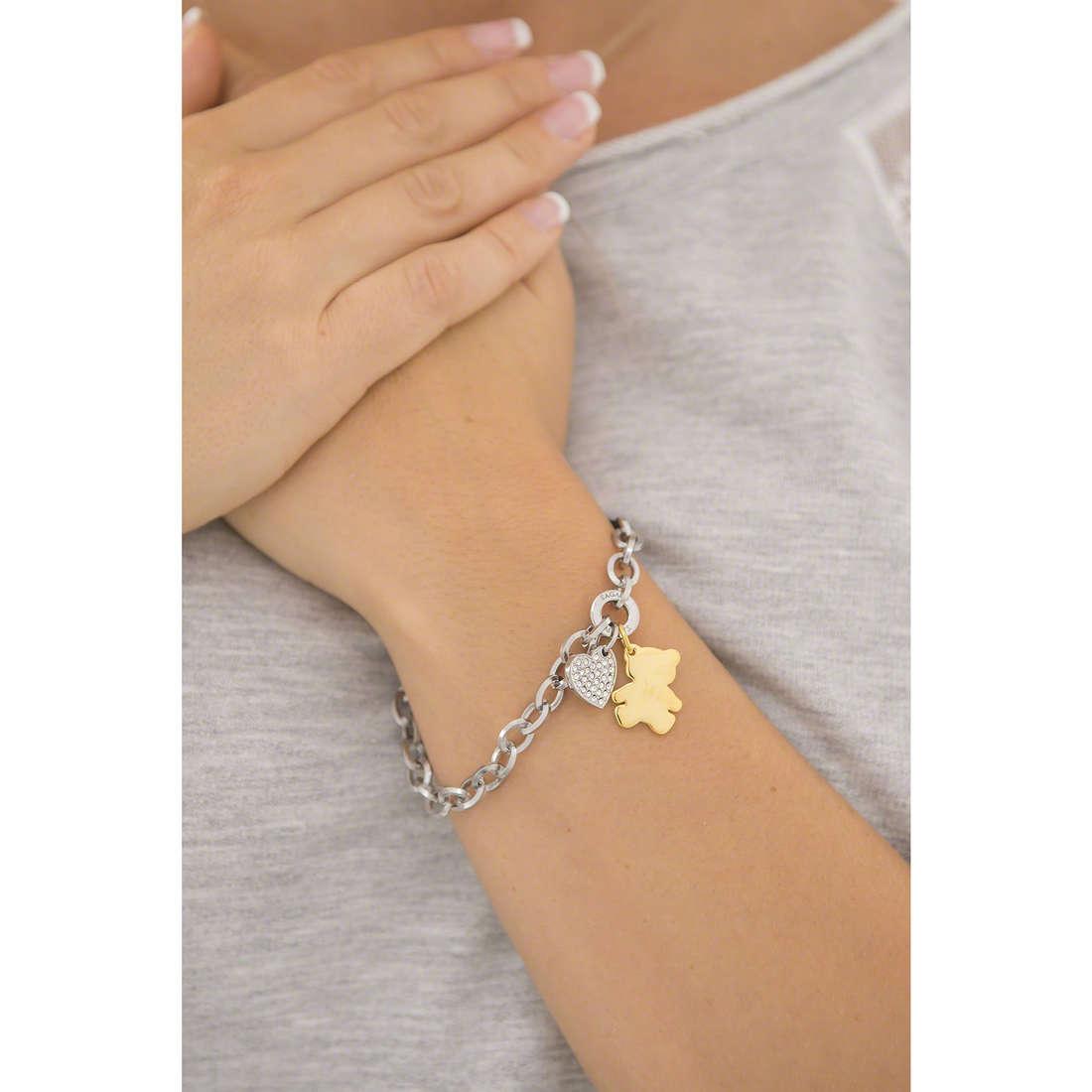 Sagapò bracciali Honey donna SHN13 indosso