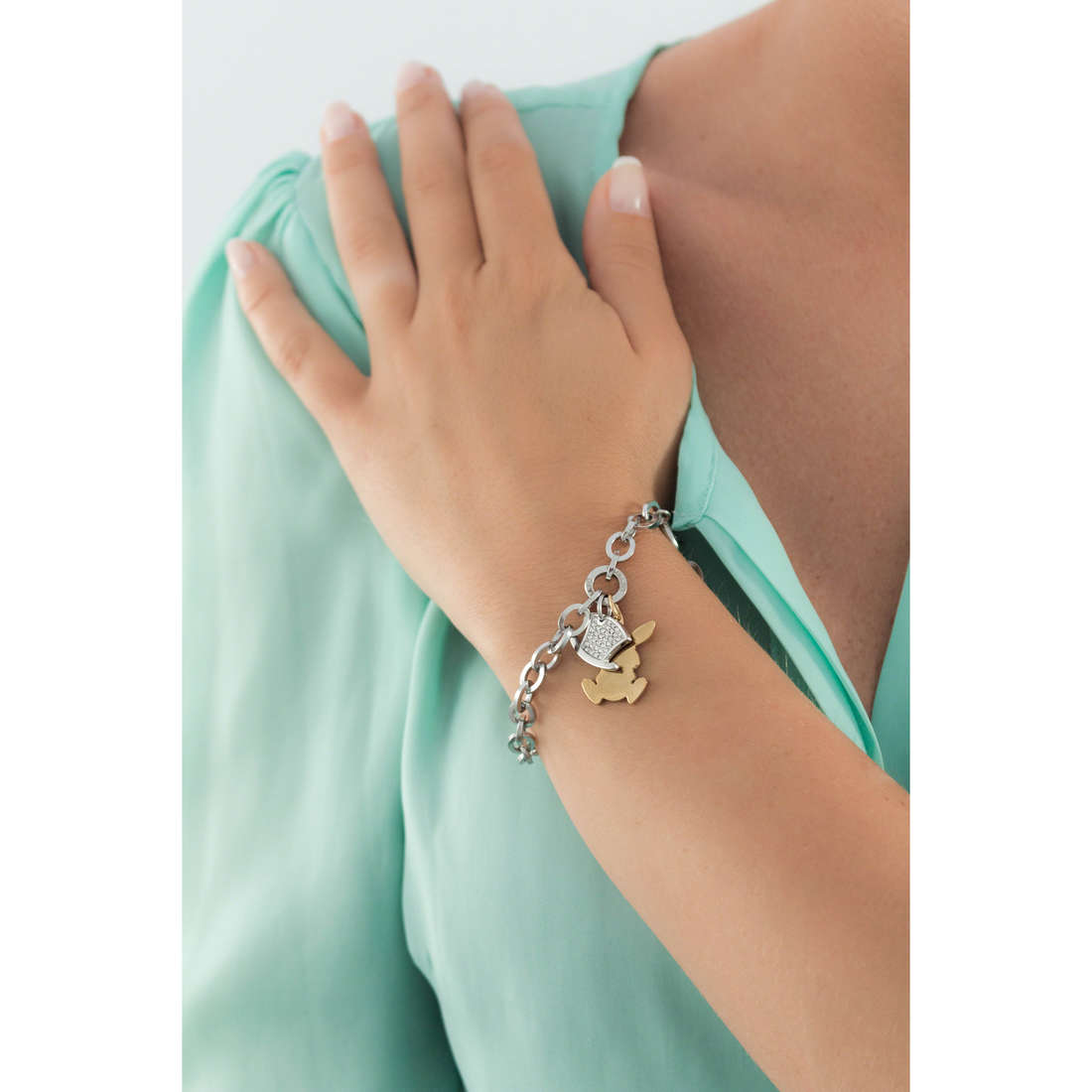 Sagapò bracciali Honey donna SHN21 indosso
