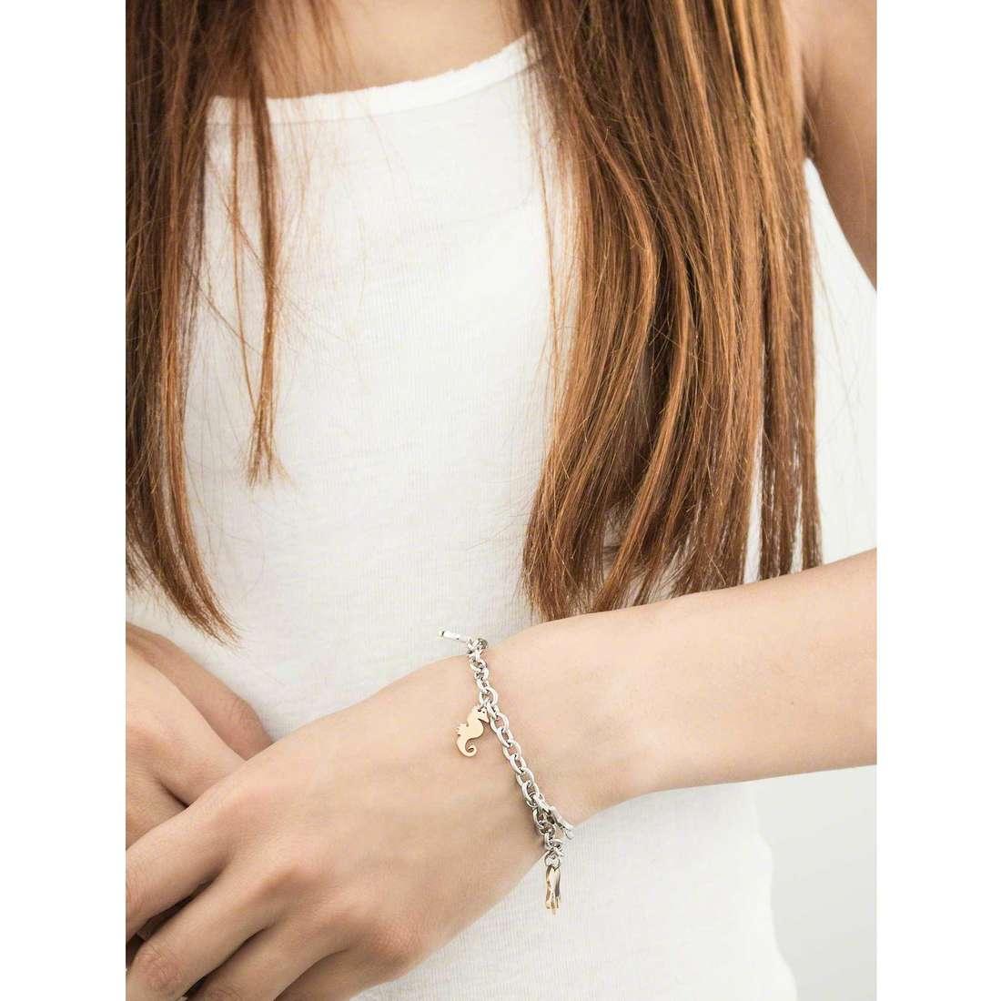 Sector bracciali Nature & Love donna SAGI11 indosso
