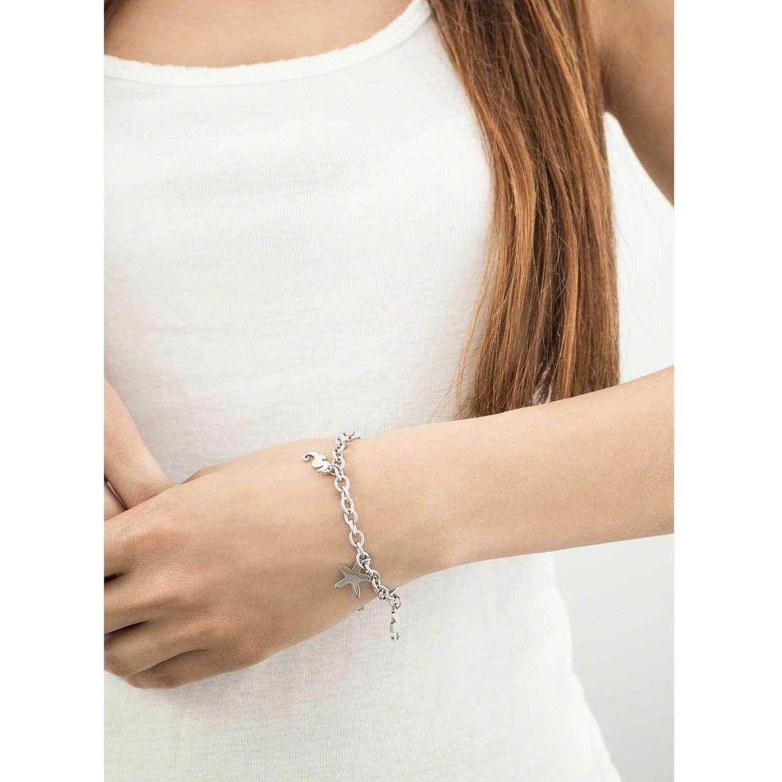 Sector bracciali Nature & Love donna SAGI12 indosso