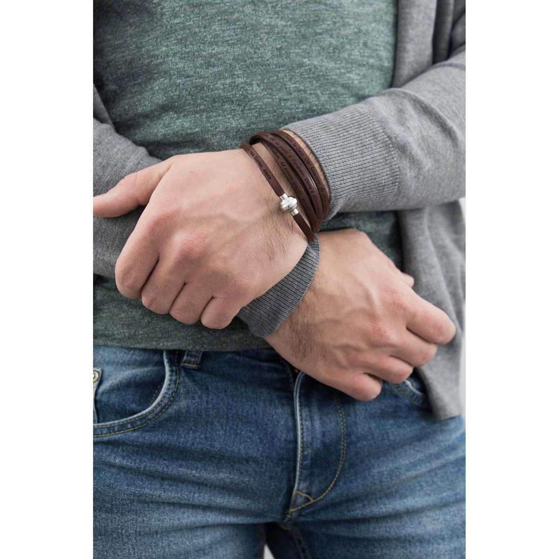 Amen bracciali San Francesco unisex MY-SF05-90 indosso