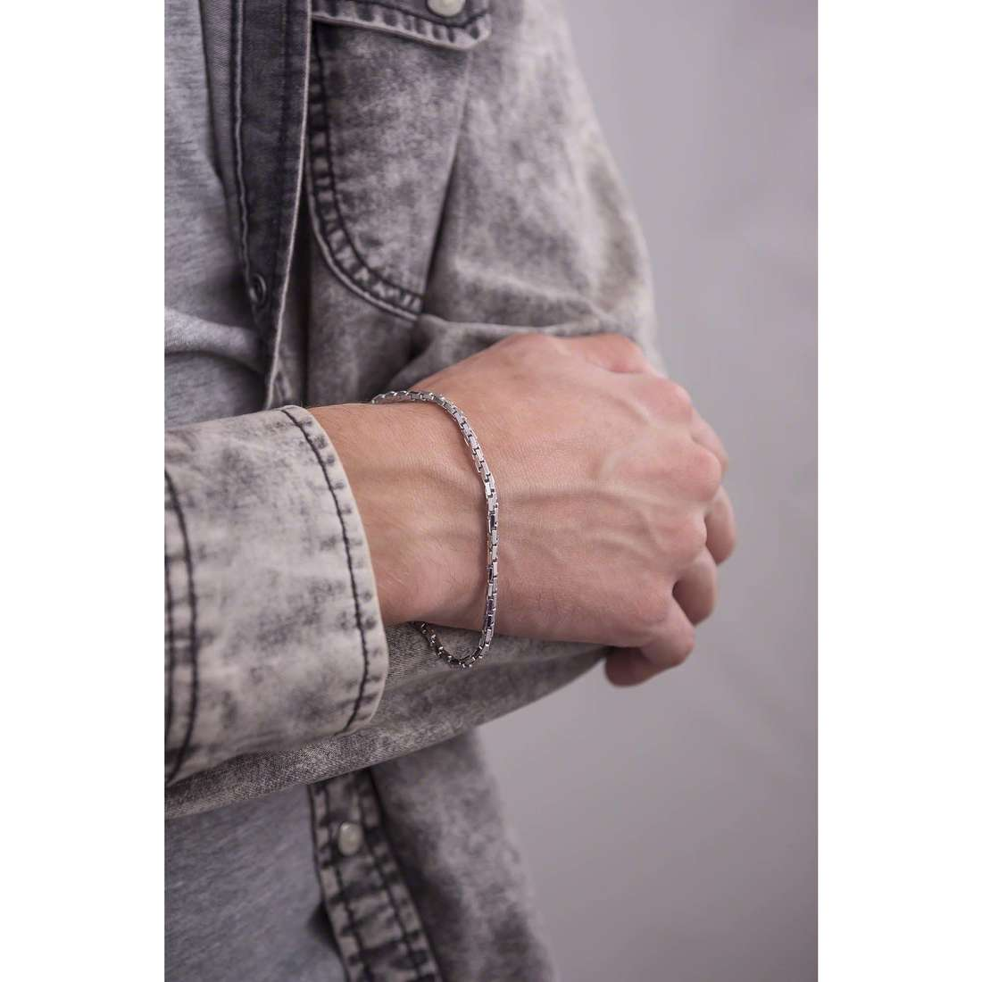 Bliss bracciali Chain uomo 20049476 indosso