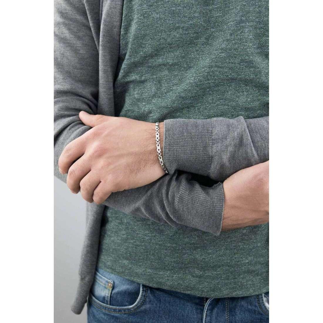 Bliss bracciali Oxford uomo 20064153 indosso