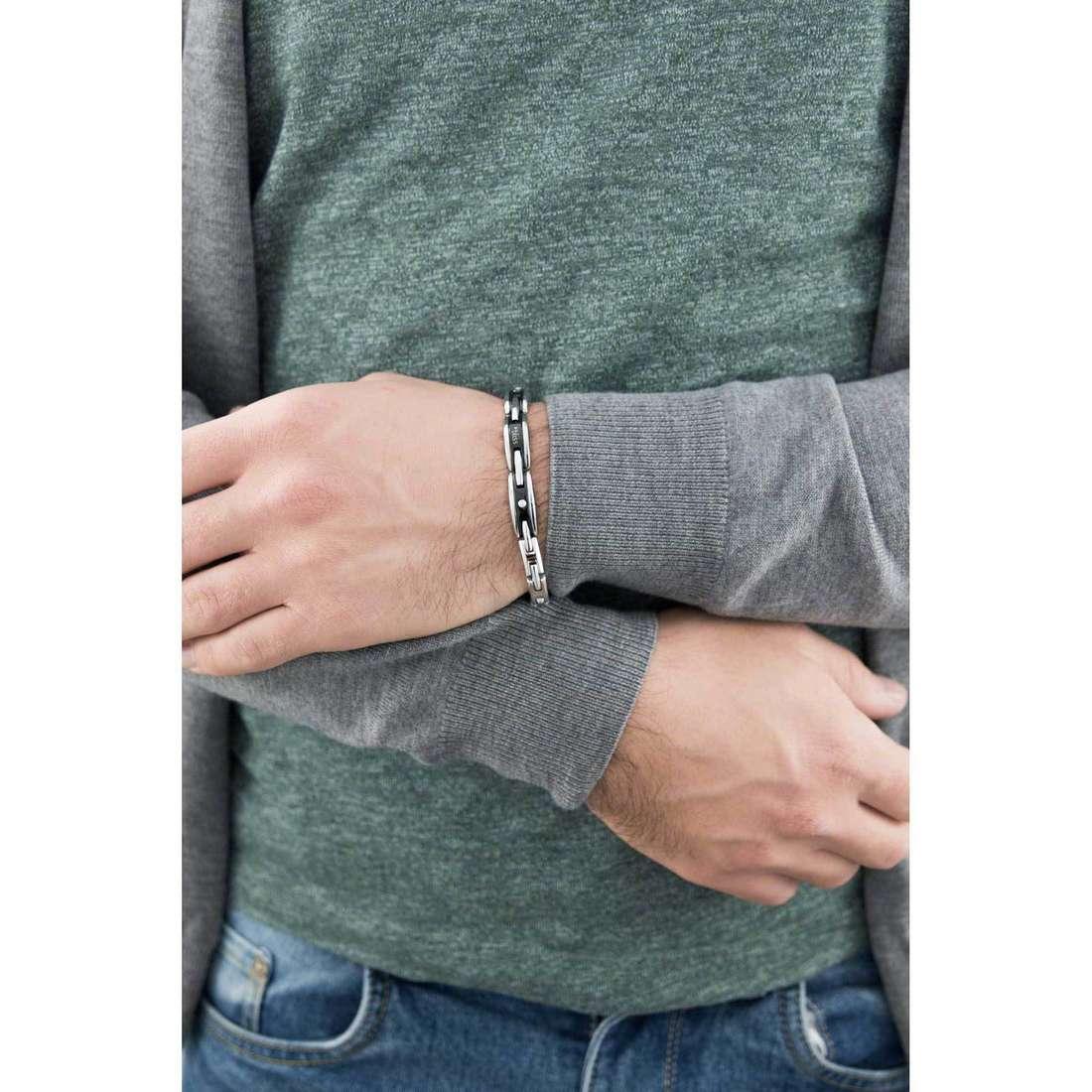 Bliss bracciali Rebel uomo 20059872 indosso