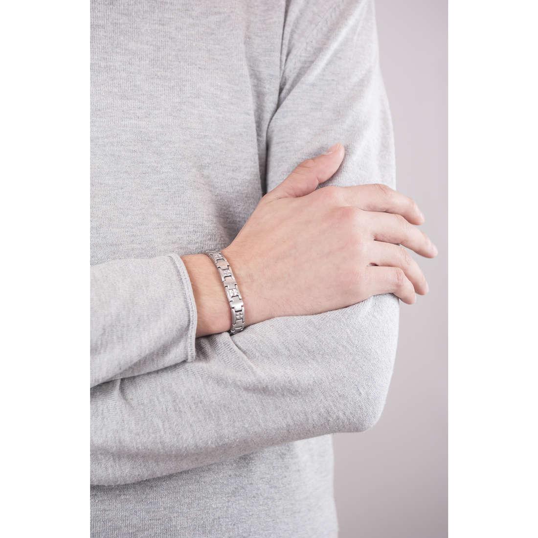 Breil bracciali Endorse uomo TJ1658 indosso