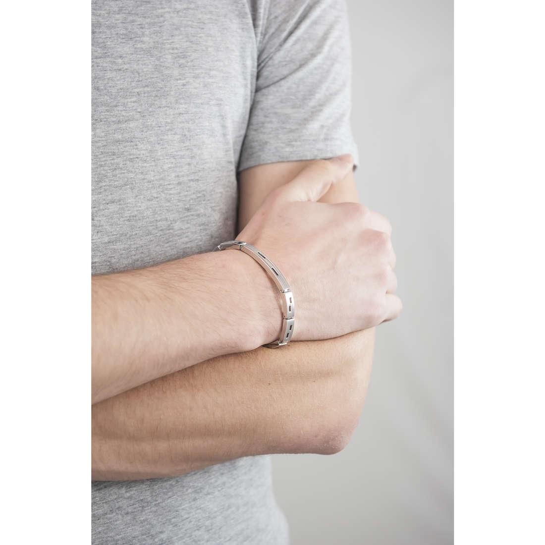 Breil bracciali Joint uomo TJ1273 indosso