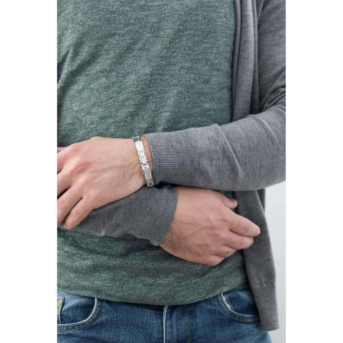 Breil bracciali Star Way uomo TJ1537 indosso