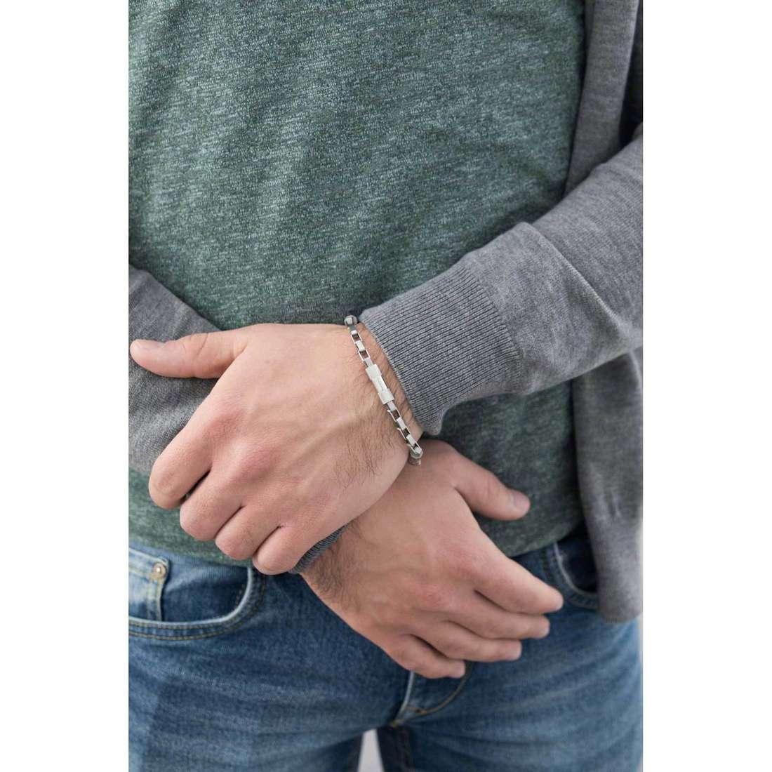 Breil bracciali Star Way uomo TJ1538 indosso