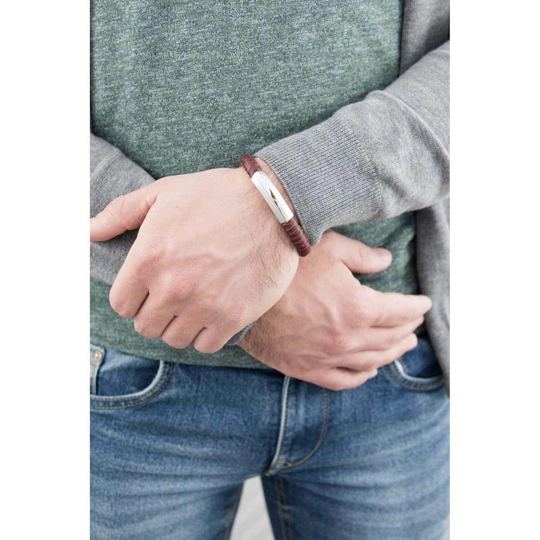 Breil bracciali Thorn uomo TJ1761 indosso
