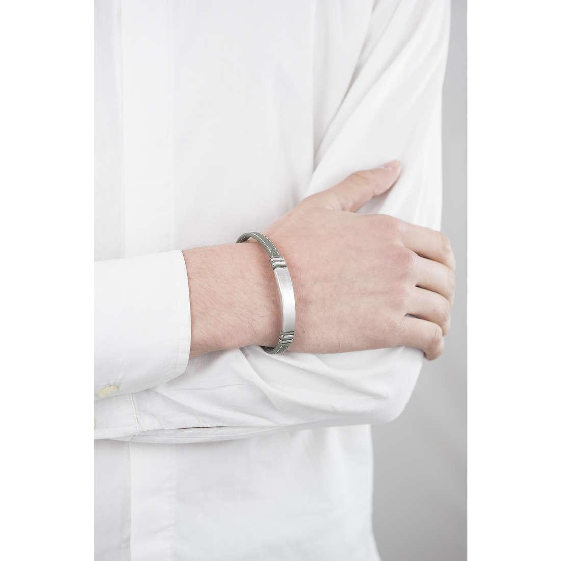 Breil bracciali uomo TJ1977 indosso