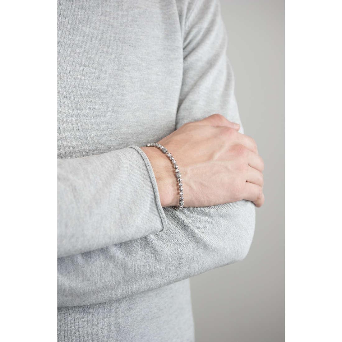 Brosway bracciali Himalaya uomo BHY11 indosso
