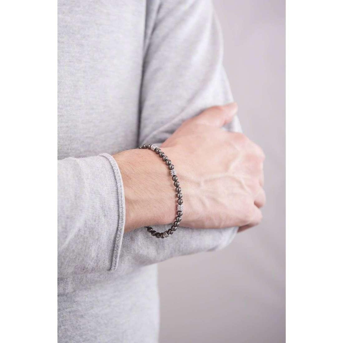 Brosway bracciali Himalaya uomo BHY14 indosso