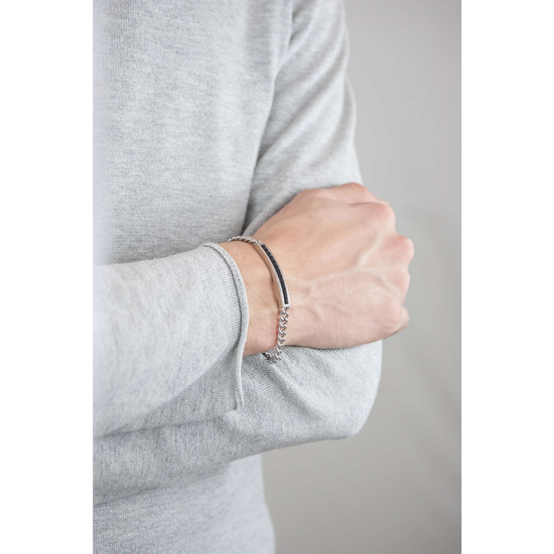 Brosway bracciali Life uomo BLF11 indosso
