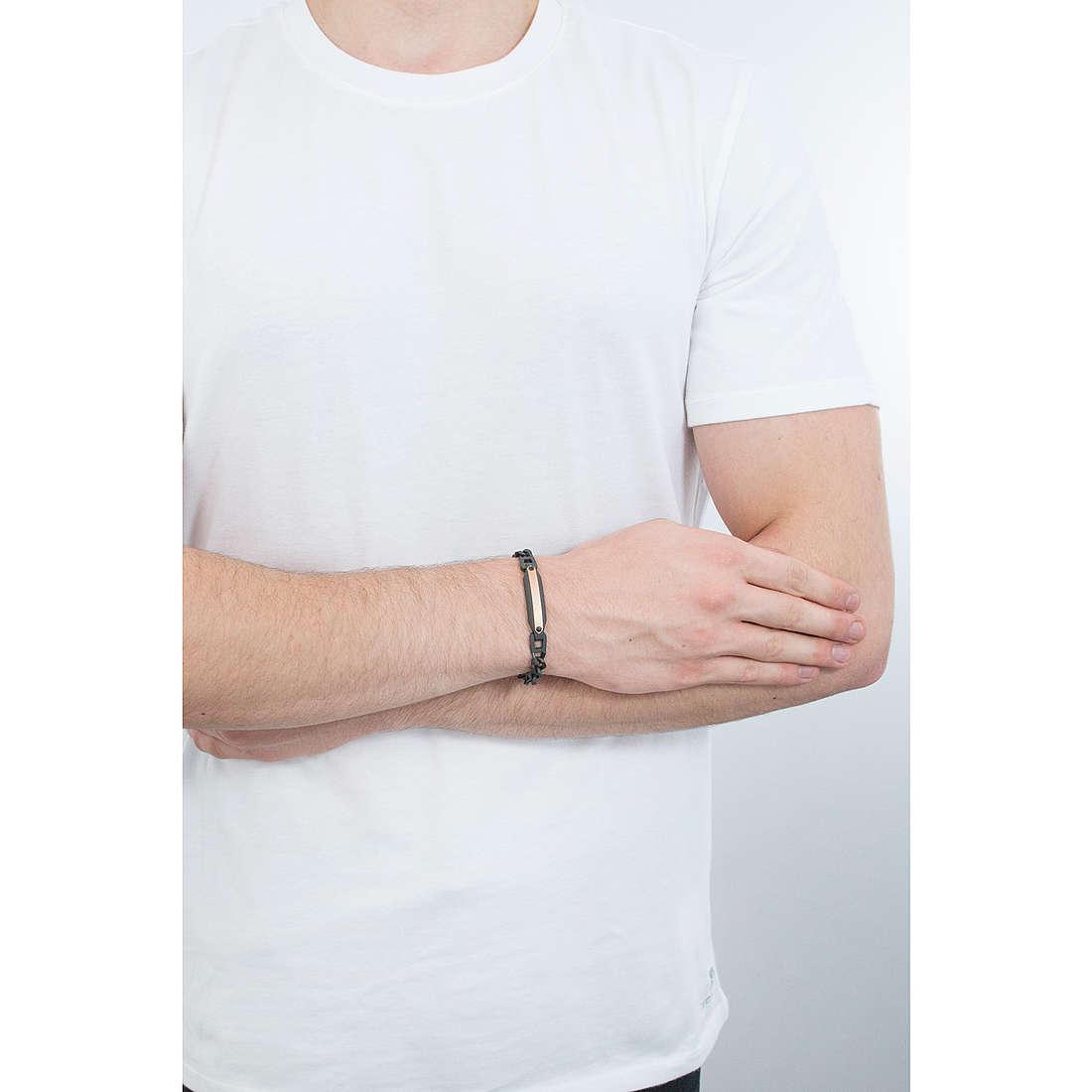 Brosway bracciali Medieval uomo BMV14 indosso