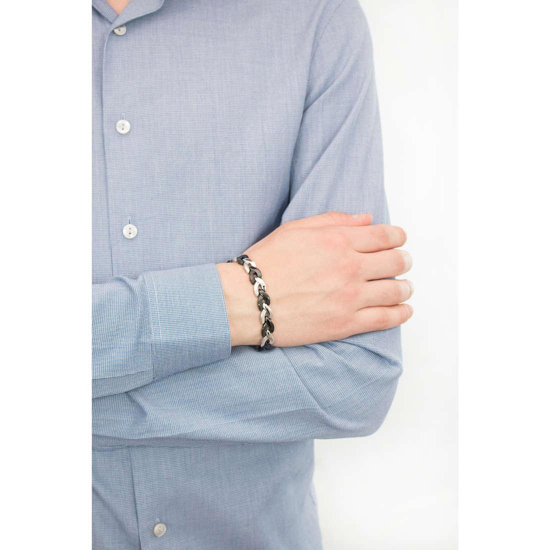 Brosway bracciali Viper uomo BVP11 indosso
