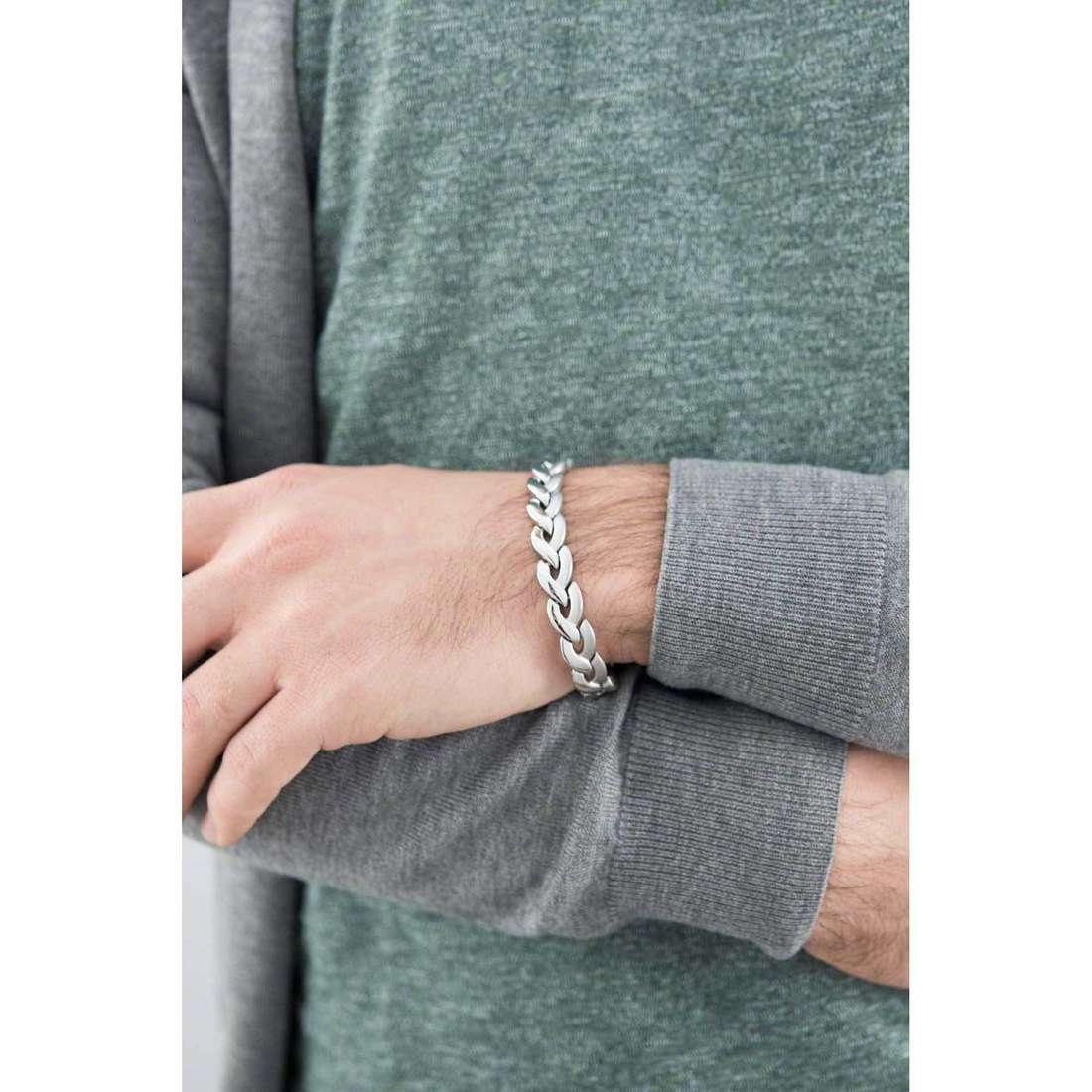 Brosway bracciali Viper uomo BVP14 indosso