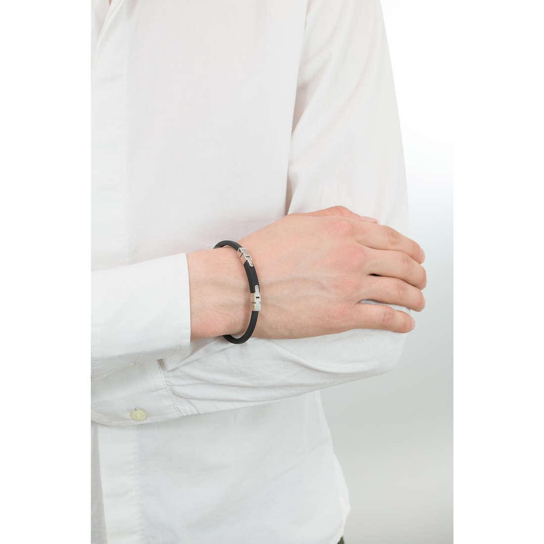 Comete bracciali Link uomo UBR 501 indosso