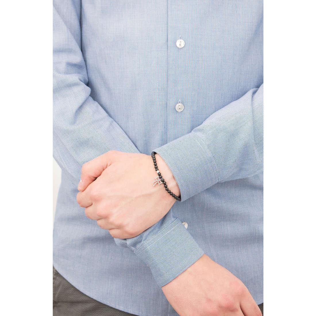 Comete bracciali Holy uomo UBR 586 indosso