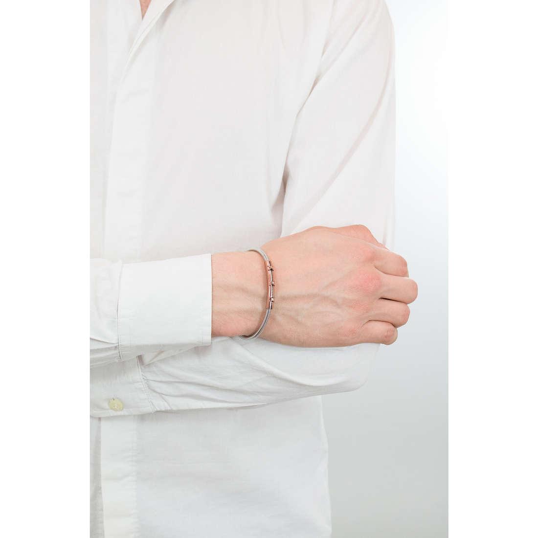 Comete bracciali Boxe uomo UBR 794 indosso