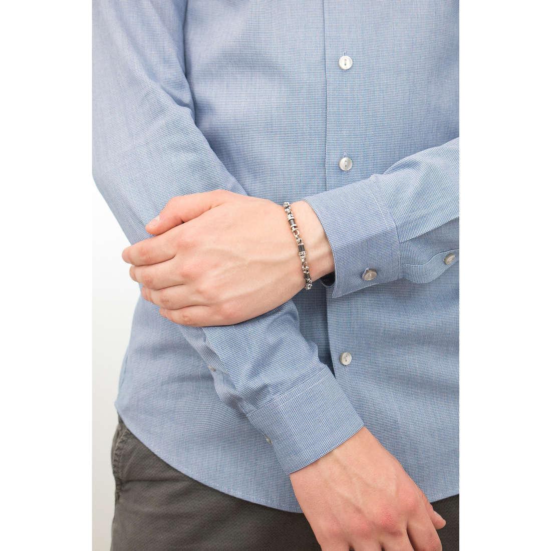 Comete bracciali Ceramic uomo UBR 772 indosso