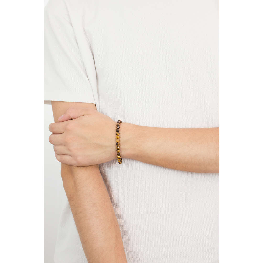 Comete bracciali Dandy uomo UBR 745 indosso