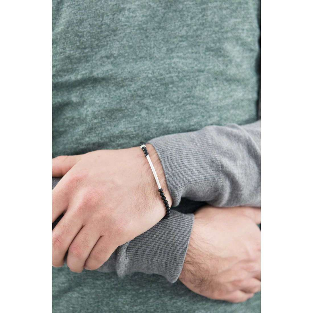 Comete bracciali Dandy uomo UBR 746 indosso