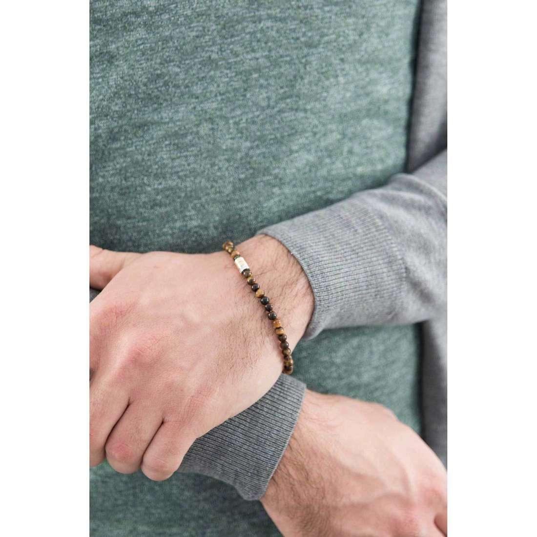 Comete bracciali Dandy uomo UBR 749 indosso