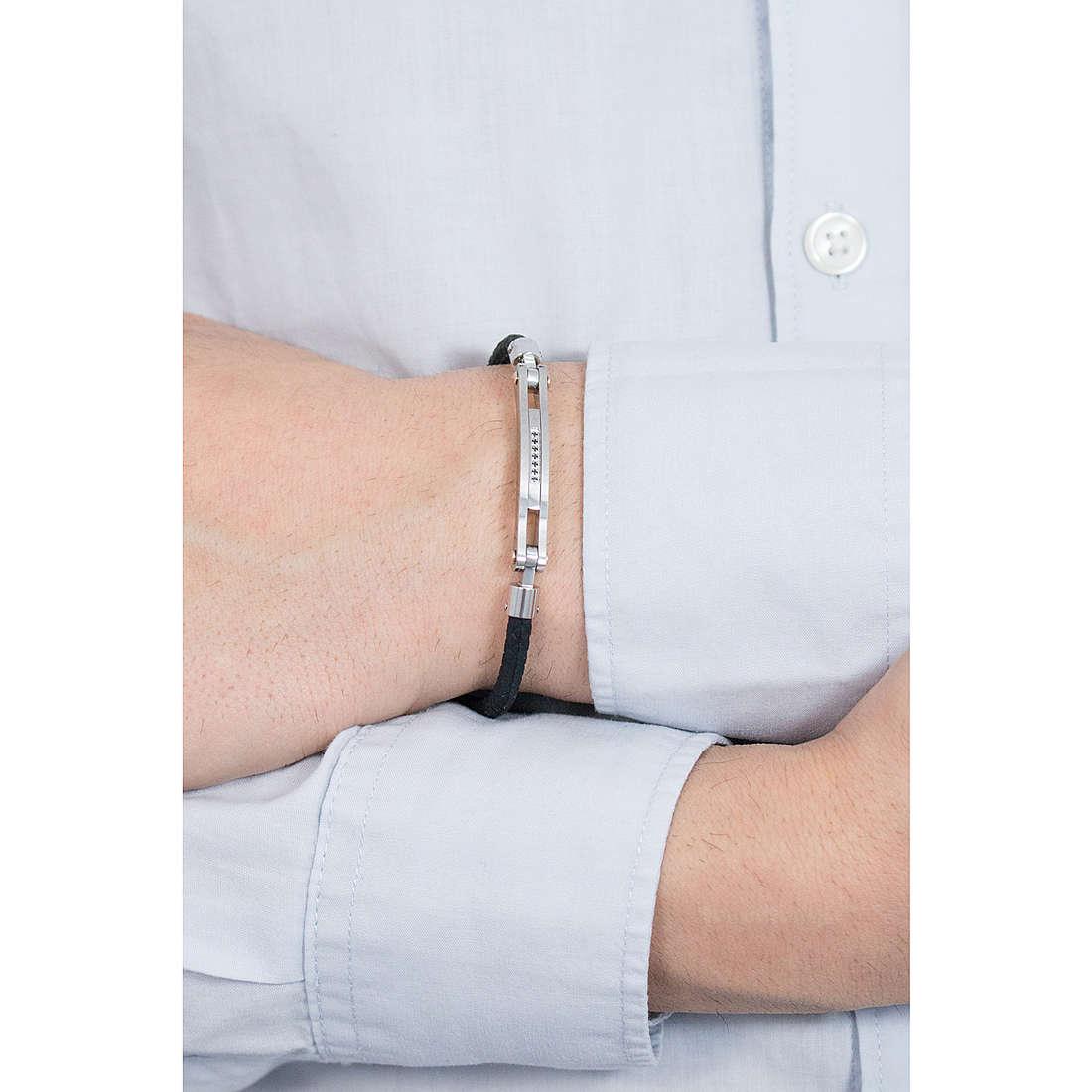 Comete bracciali Nipper uomo UBR 660 indosso