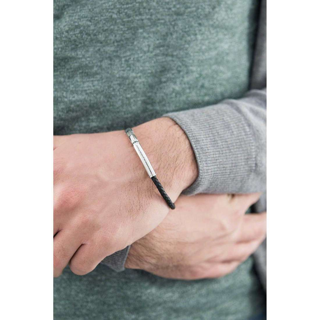 Comete bracciali Passioni uomo UBR 679 indosso