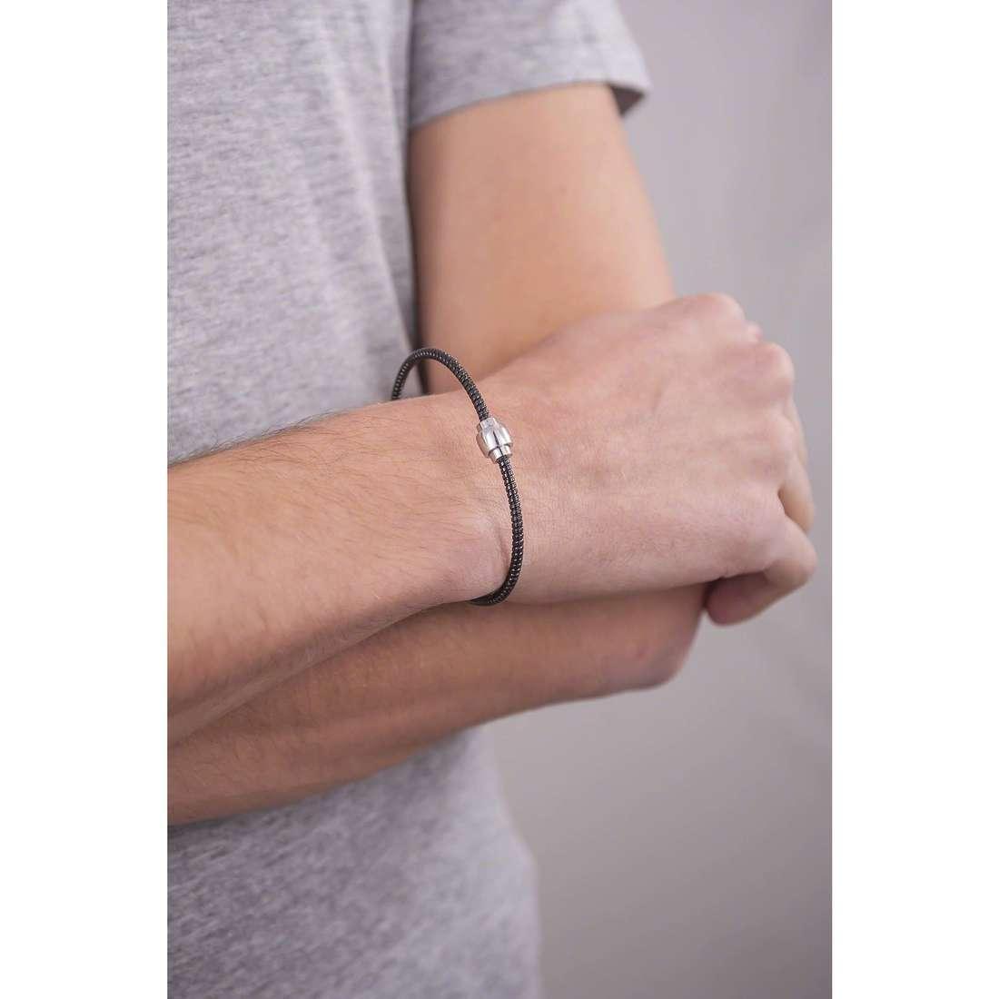 Comete bracciali Fahrenheit uomo UBR 590 indosso