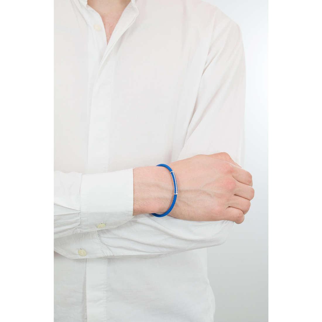 Comete bracciali Random uomo UBR 635 indosso