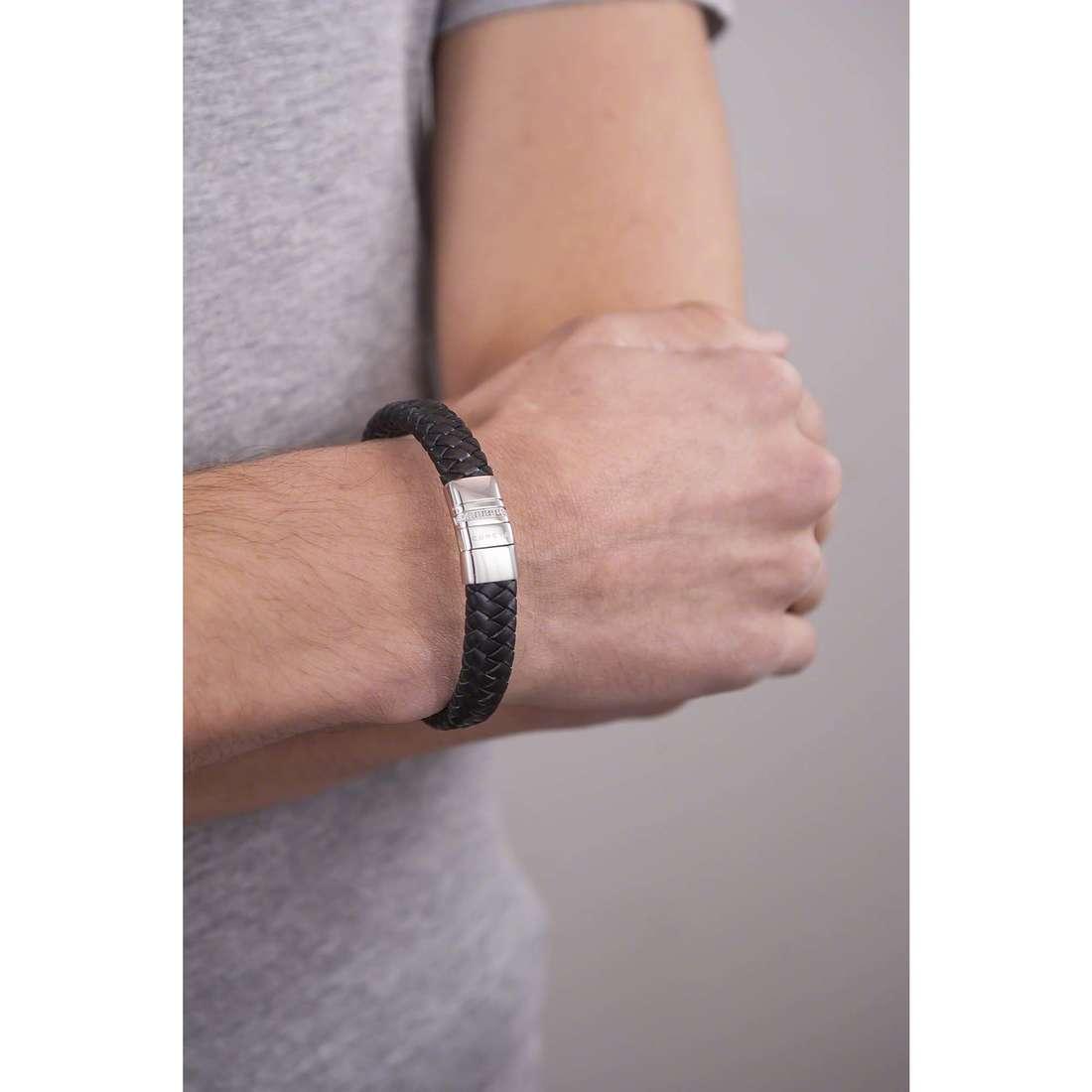 Comete bracciali Weave uomo UBR 655 indosso