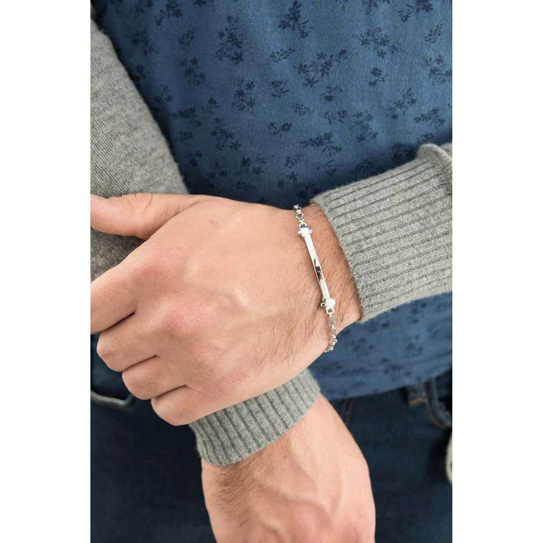 Giannotti bracciali uomo GIA264 indosso