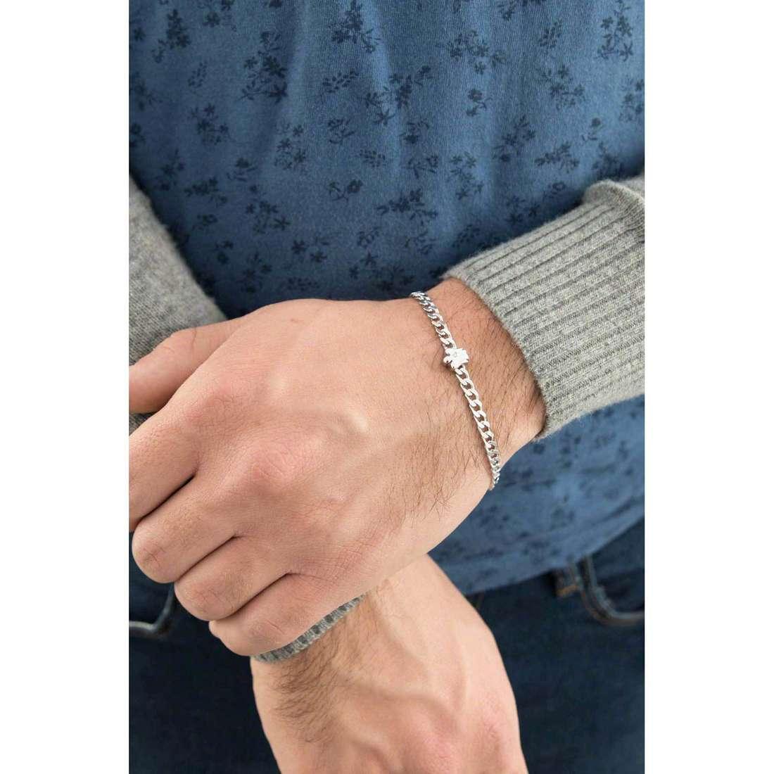 Giannotti bracciali uomo GIA277 indosso