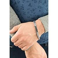 bracciale uomo gioielli Luca Barra LBBA623
