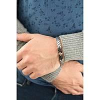 bracciale uomo gioielli Luca Barra LBBA630