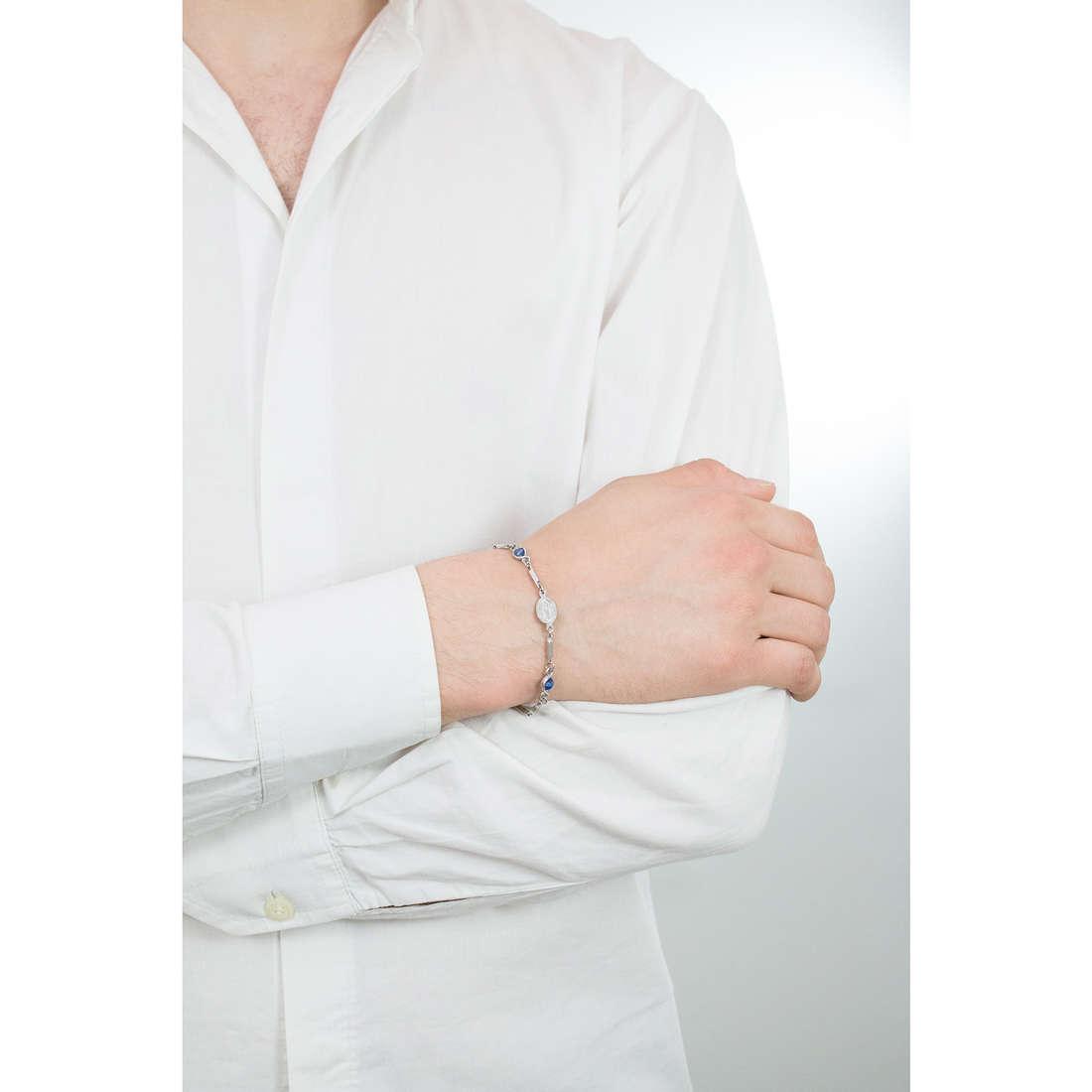 Luca Barra bracciali uomo LBBA736 indosso