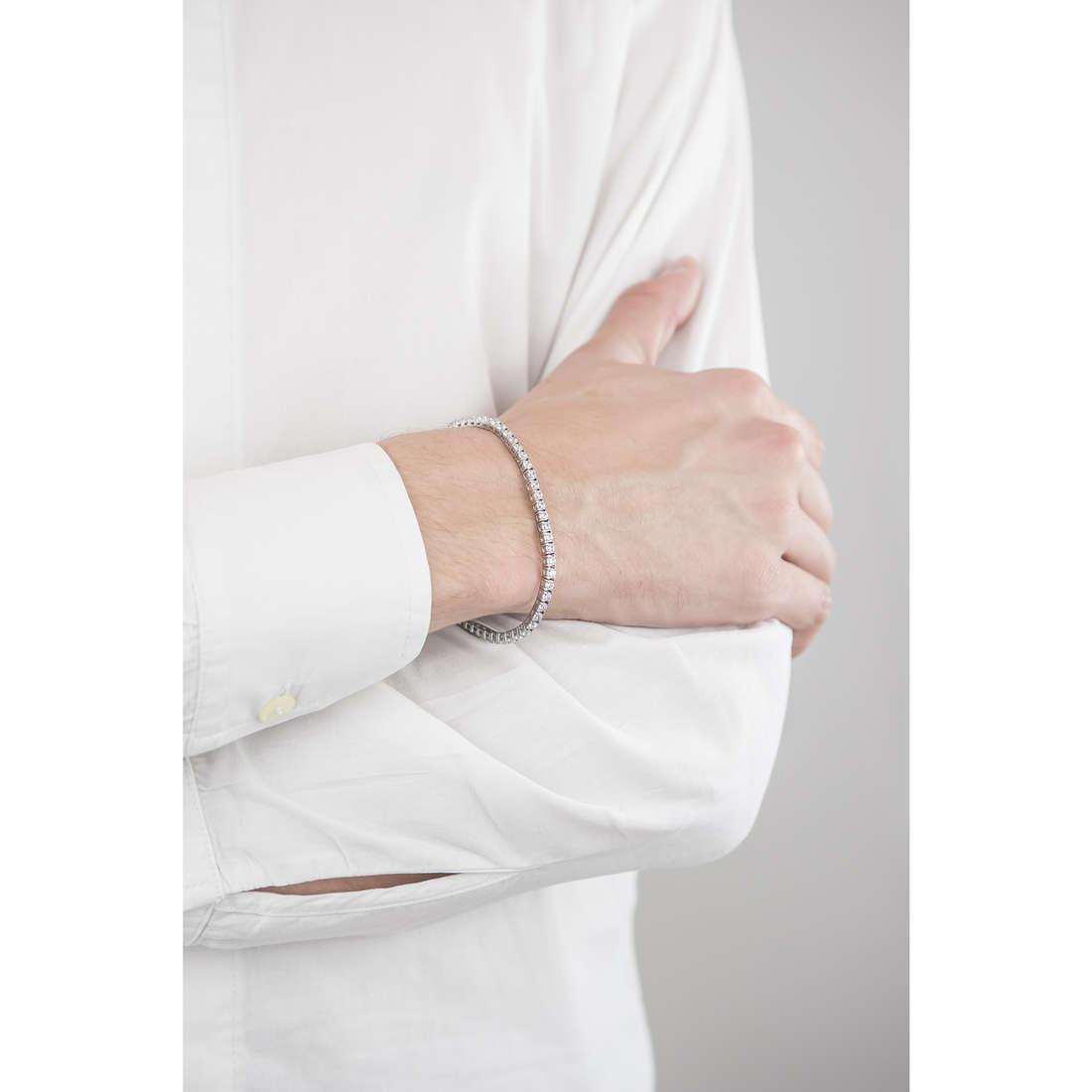 Luca Barra bracciali uomo LBBA737 indosso
