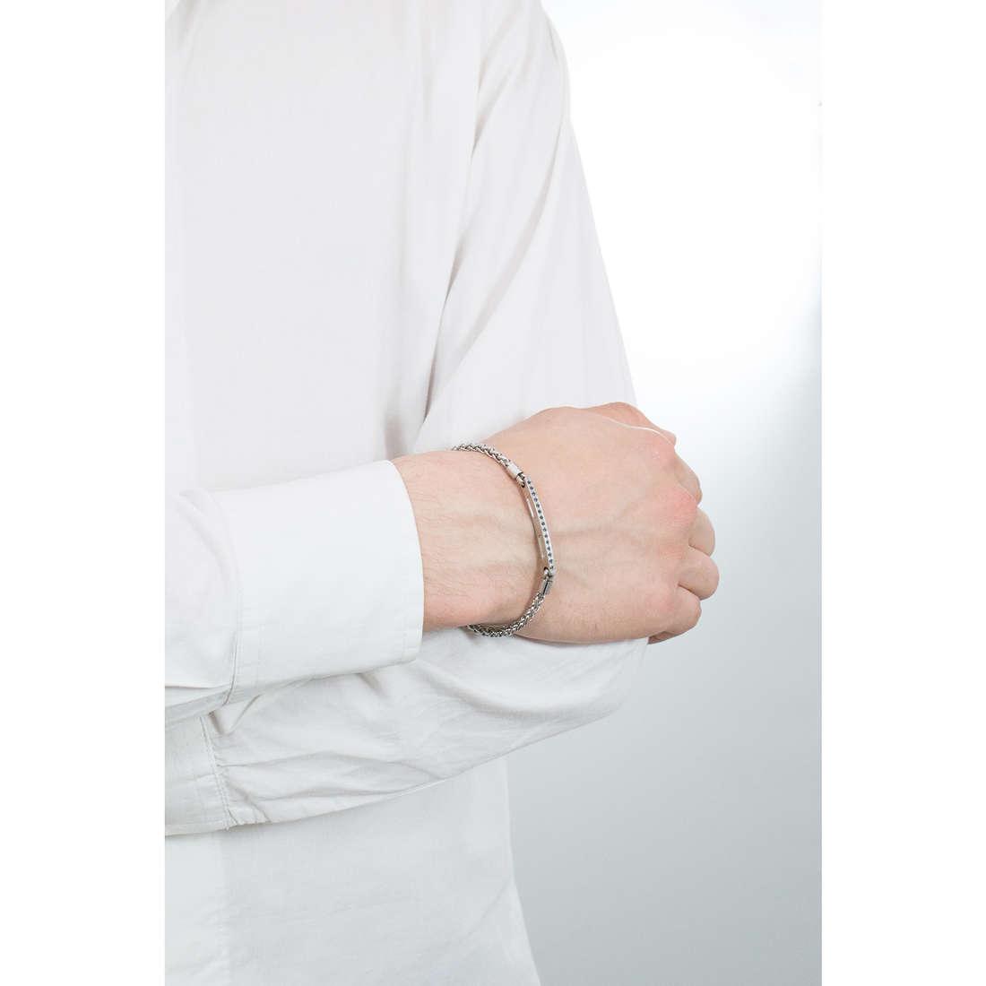 Luca Barra bracciali uomo LBBA741 indosso