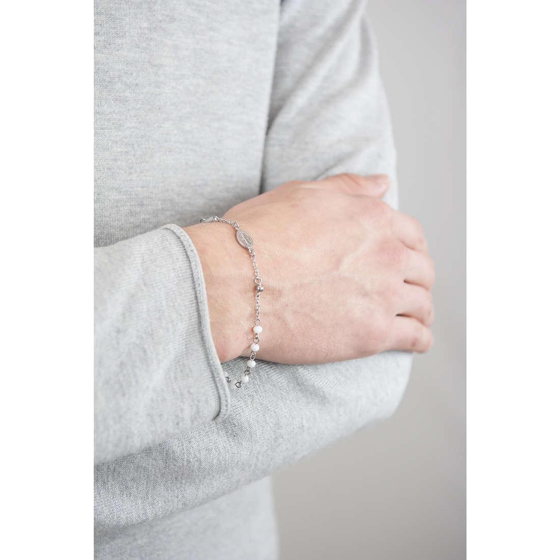 Luca Barra bracciali uomo LBBA743 indosso