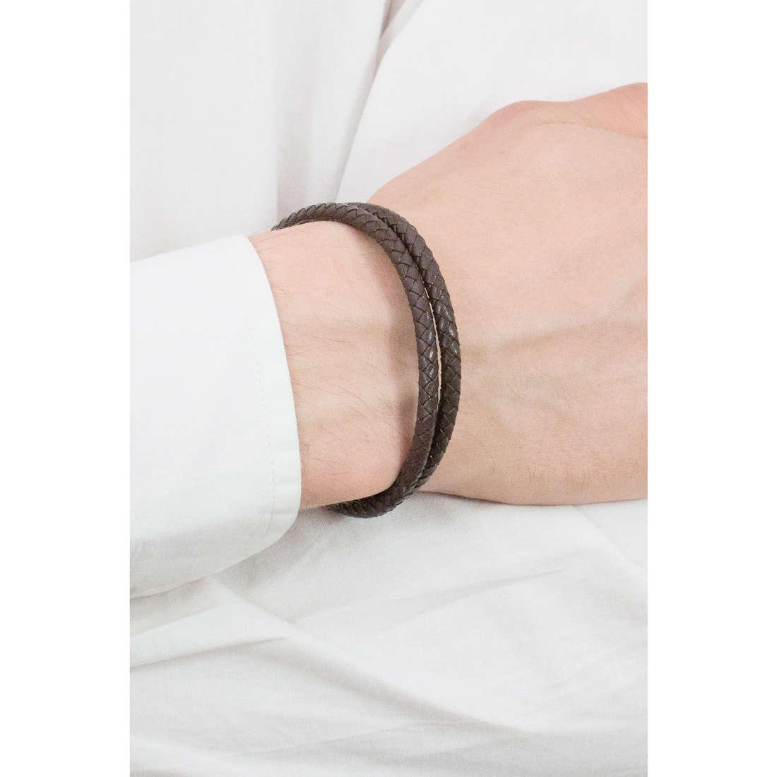 Luca Barra bracciali Sailor uomo LBBA810 indosso