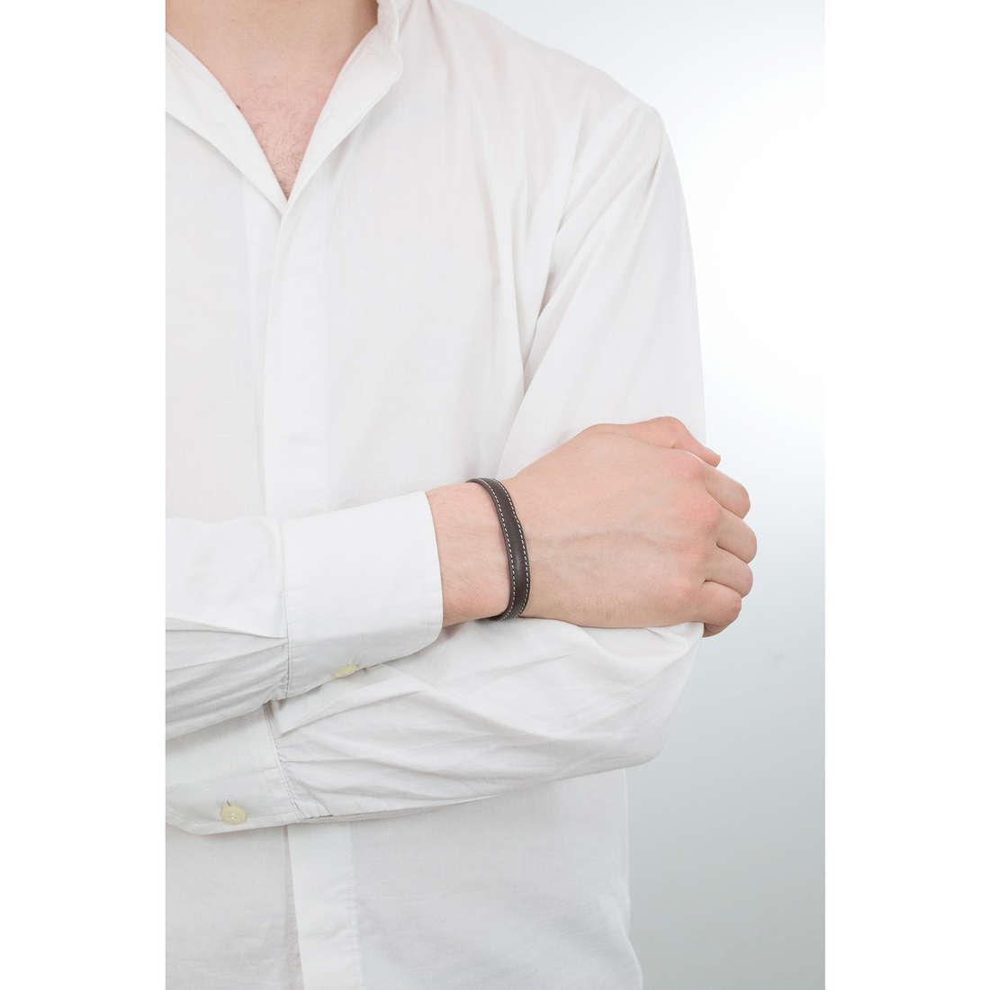 Luca Barra bracciali Sailor uomo LBBA818 indosso